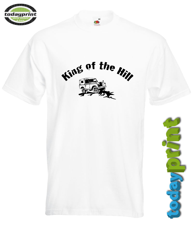 King of the Hill Land Rover Defender Fan Shirt