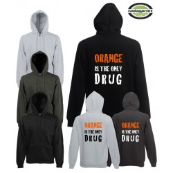 ORANGE IS THE ONLY DRUG - Hoodie
