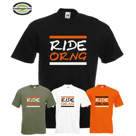 T-Shirt RIDE ORNG