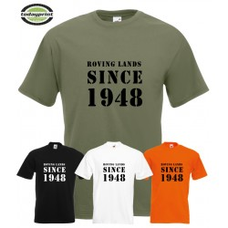 T-Shirt ROVING LANDS SINCE 1948