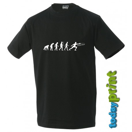 T-Shirt Fechten Evolution