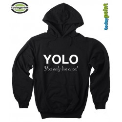 Hoodie YOLO - You only live once