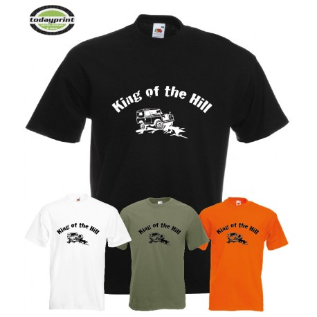 T-Shirt - King of the Hill - Land Rover Defender - Serie