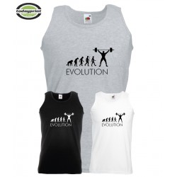 EVOLUTION - Muscle Shirt - Bodybuilder - Bodybuilding