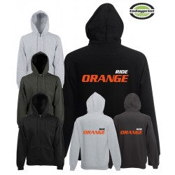 Hoodie Ride Orange