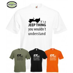 T-Shirt - IT´S A JEEP THING