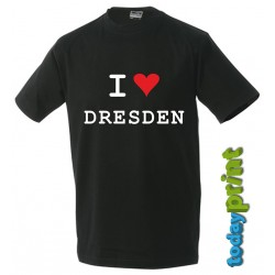 T-Shirt  I LOVE Dresden