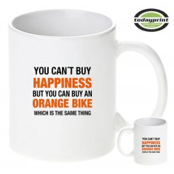CAN´T BUY HAPPINESS - für alle Adventure, Enduro, Supermoto, Ktm Fans Motiv Tasse 0,3L