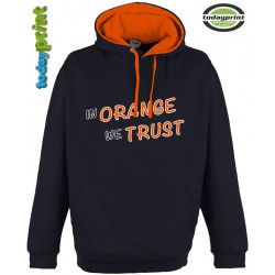 RIDE ORANGE -  Super Bright Kapuzen Hoodie