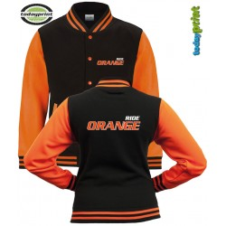 RIDE ORANGE -  College Jacke