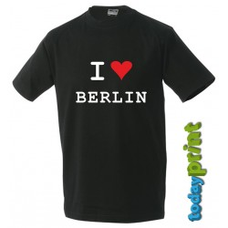 T-Shirt  I LOVE Berlin