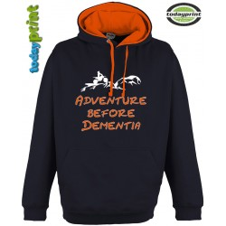 ADVENTURE BEFORE DEMENTIA Kapuzen Hoodie