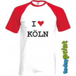 T-Shirt I love KÖLN