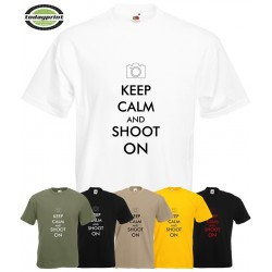 T-Shirt Keep Calm & Shoot On