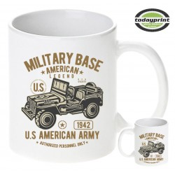 MILITARY BASE AMERICAN LEGEND, US ARMY Tasse