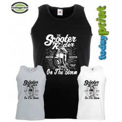 Muscle Shirt THE SCOOTER RIDER
