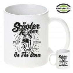 THE SCOOTER RIDER TASSE