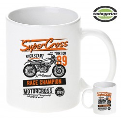 Tasse SUPER CROSS, für Enduro, Dirt, ktm, Adventure Fans