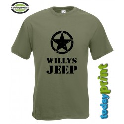 T-Shirt Willys / Allied