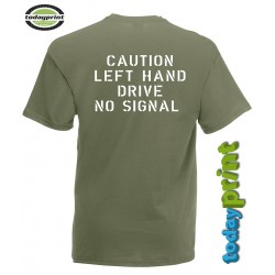 T-Shirt Willys - left Hand drive