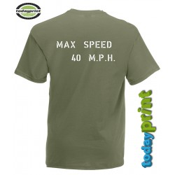 T-Shirt Willys - max Speed