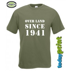 T-Shirt Willys - Overland since 1941