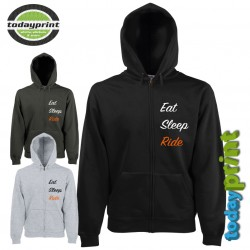 Hoodie EAT SLEEP RIDE