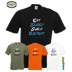 T-Shirt EAT SLEEP SURF REPEAT