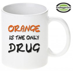 Ride Orange - Motiv Tasse 0,3L