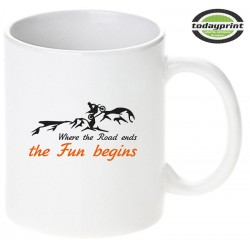 FUN BEGINS - Motiv Tasse 0,3L