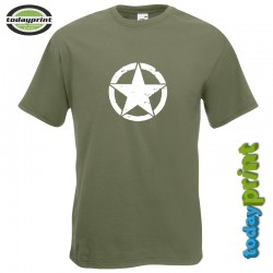 T-Shirt Allied Star -Retro- Gross
