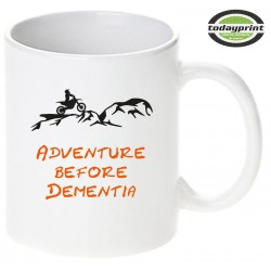 ADVENTURE BEFORE DEMENTIA - Motiv Tasse 0,3L